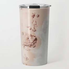 beach - pink champagne Travel Mug