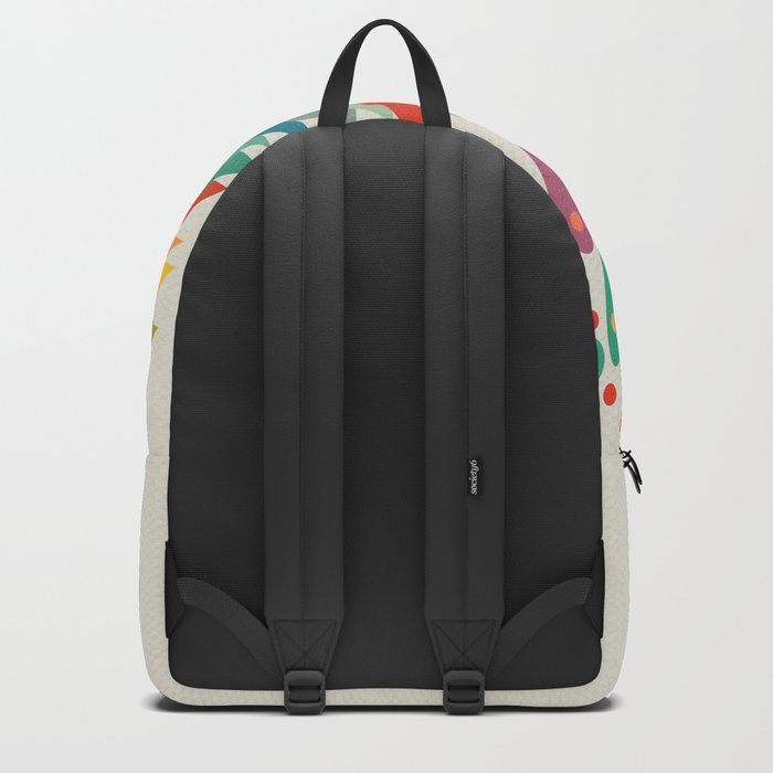 Colors and flowers Backpack