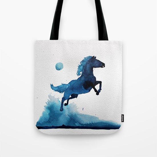 Equus ferus caballus Tote Bag