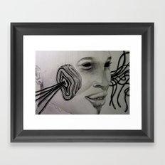 HELAIK /////// Framed Art Print