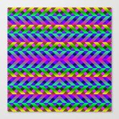 Rainbow Scaffolding Canvas Print
