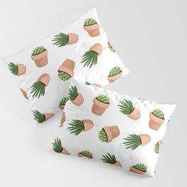 Succulents Pattern Pillow Sham