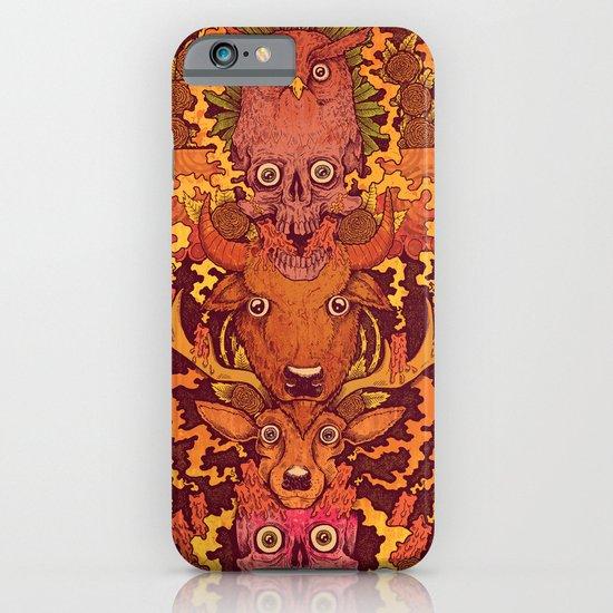 Burning Totem iPhone & iPod Case