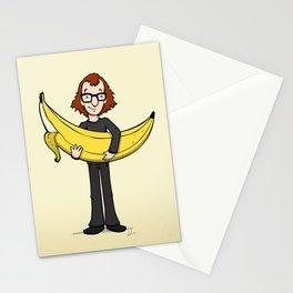 Woody's Banana Stationery Cards