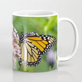 Colorful Monarch Butterfly Coffee Mug