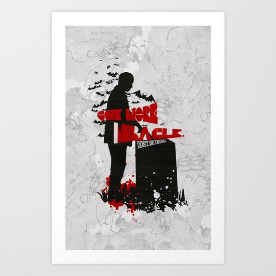 One More Miracle : Sherlock Art Print