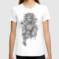 raven T-shirts featuring Raven by Zan Von Zed
