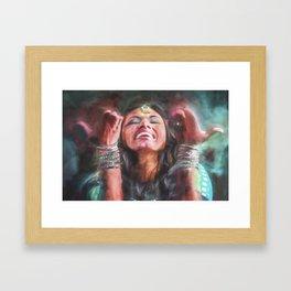 Dancer in Motion Framed Art Print