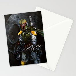 BobaFett of the 501st Legion fan art Stationery Cards