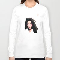 bjork Long Sleeve T-shirts featuring Bjork by Anna McKay