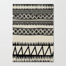 MALOU ZEBRA Canvas Print