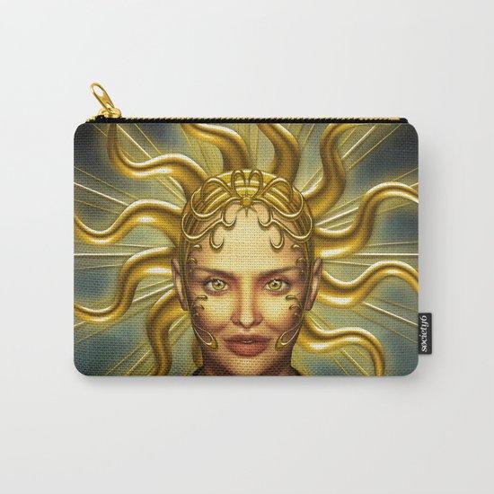 Beautiful golden sun goddess Carry-All Pouch
