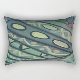 Survival of the Fittest Rectangular Pillow
