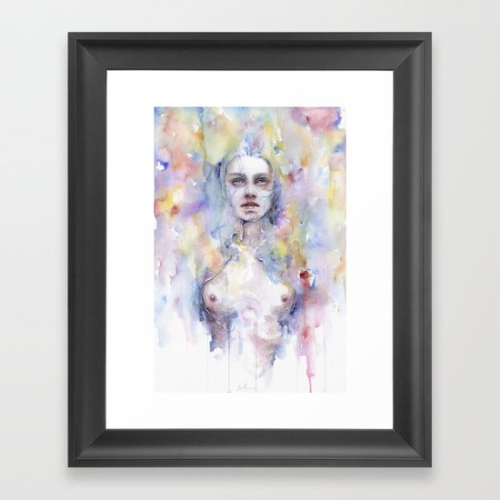 Emerged Framed Art Print