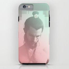 Rose Beard Yogi iPhone Case