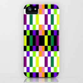 COLORFUL GEOMETRY iPhone Case