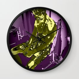 THE CHESS BOXING FIGHTER Wall Clock