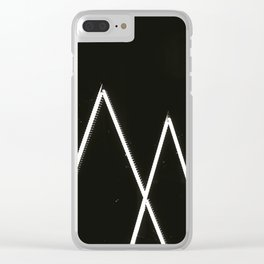 3 x TRIANGLES Clear iPhone Case