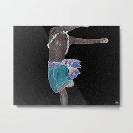African Constellation Metal Print