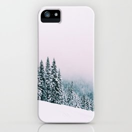 Angled Snow iPhone Case