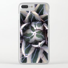 White Daze Clear iPhone Case