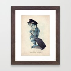 The Pilot Framed Art Print