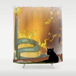 Universe Shower Curtain