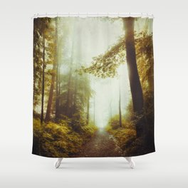 Path to Inner Peace Shower Curtain