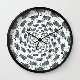 Dragon Head   (A7 B0075) Wall Clock