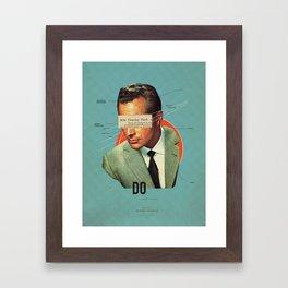 Do Framed Art Print