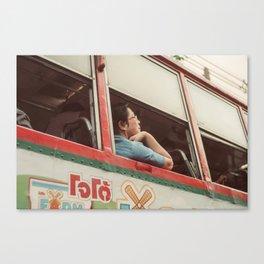 Bangkok Bus Canvas Print