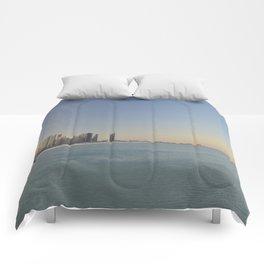 Chicago skyline #1 Comforters