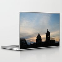 mexican Laptop & iPad Skins featuring Mexican Sunset by Renee Trudell