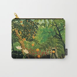 "Henri Rousseau ""Exotic landscape"", 1910 Carry-All Pouch"