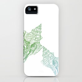 Shells Coloured iPhone Case