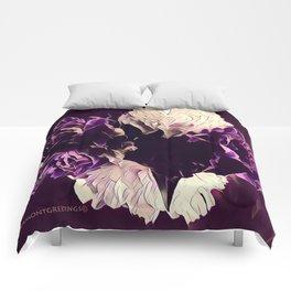 Pretty in Purple Comforters