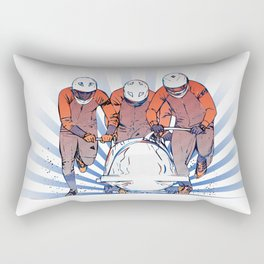 Cool Runnings - Bobsleigh 4 men team Rectangular Pillow