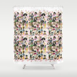 Women of the world Shower Curtain