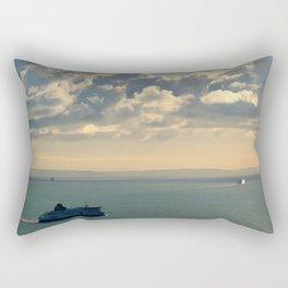 To and From France Rectangular Pillow