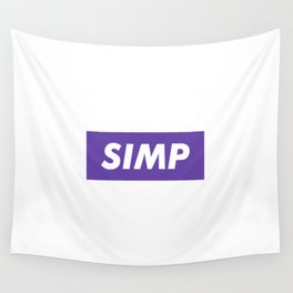 SIMP Purple Wall Tapestry