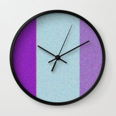 Re-Created Interference ONE No. 23 by Robert S. Lee Wall Clock