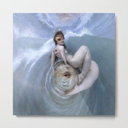 The Siren of Ganymede Metal Print