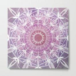 Purple Space Metal Print