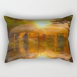 The Gathering Place Rectangular Pillow