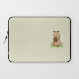 Bear Bouquet Laptop Sleeve