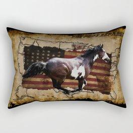 The Pony Express Rectangular Pillow