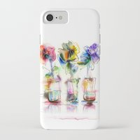 card iPhone & iPod Cases featuring card by tatiana-teni