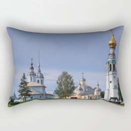 Vologda Kremlin In The Morning Rectangular Pillow