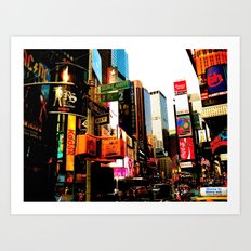 NY Life Art Print