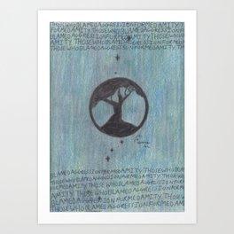 Amity. Art Print